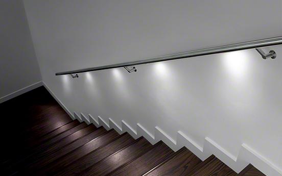 q lights balustrade inox
