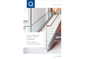 Informatii utile disponibile in catalogul Q-railing Easy Glass